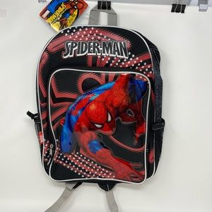 Marvel SPIDERMAN Backpack*New With Tag!!